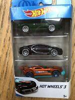 Hot wheels 3 Car Set (brand new)