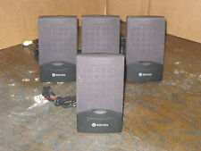 Kinyo 4 pcs. RS-270 Home Theater Speakers System Tested & Working