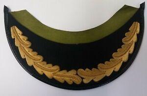 "Genuine British Made 1 Row Officers ""Scrambled Egg"" Oak Leaf Dress Hat Peak PK26"