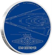Niue 2 Dollar 2017 - Star Destroyer - Star Wars Ships (2.) - 1 Oz Silber PP
