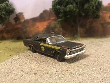 1965 Ford Galaxie Rusty Weathered Barn Find Custom 1/64 Diecast Police Car Rust