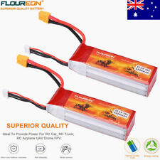 2x11.1V 2200mAh 3S 25C Lipo RC Battery XT60 for RC Car Quadrocopter Hobby New AU