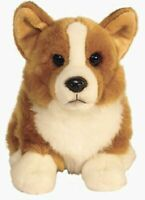 Plush Welsh Pembroke Corgi - Realistic Looking Collectible Plush Toy 12''
