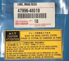 GENUINE TOYOTA LEXUS 4881506080 VARIOUS MODELS BUSH STABILIZER 48815-06080 !