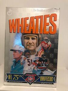 1994 EMPTY Wheaties Box NFL 75th Anniversary Payton, Butkus, Shula, Rice EX