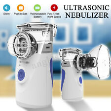 Portable Operated Replaceable Battery Ultrasonic Nebulizer for Asthma & COPD US