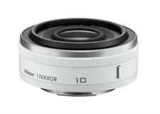 Nikon 1 Nikkor 10mm F/2.8 Lens for J1 J2 J3 S1 V1 V2 - White (White Box)