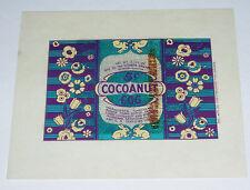 1930's Cocoanut Egg Candy Wrapper Voneiff-Drayer Company vintage