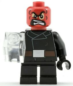 Genuine Lego Marvel Super Heroes RED SKULL Minifigure from 76065 Mighty Micros