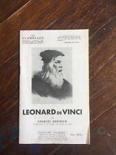 HERTRICH Charles Léonard de Vinci Les flambeaux 1945