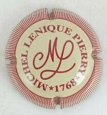 capsule champagne LENIQUE michel n°2 crème striée