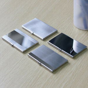 Excellent Metal Box for Business ID Credit Card Case Holder Stainless Steel