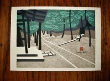SMALL Phenomenal KIYOSHI SAITO Zen Temple CHOP SIGNED NOS MixedMedia DAITOKU JI