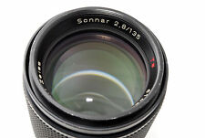 [Exc+5] Contax Carl Zeiss Sonnar T* 135mm f2.8 AEJ MF Lens C/Y Mount From JAPAN