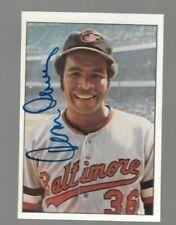 Tommy Davis Signed Autograph 1975 SSPC Baseball Card- 100% Guaranteed