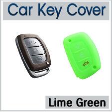Silicone Case Cover SMART Key Hyundai IX35 IX45 I40 Elantra Accent SantaFe-GREEN