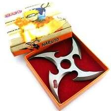 Naruto Uzumaki Sharingan Alloy Shuriken Kunai Fidget Torqbar Finger Spinning Toy