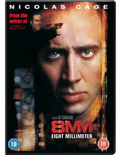 8MM (Nicolas Cage) - DVD - REGION 2 UK
