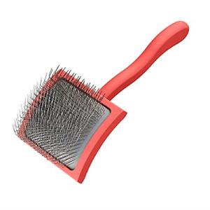 Long Pin Slicker Brush, Large, Coral