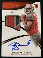 Jameis Winston 2015 Panini Immaculate Gold Rookie Patch Auto 10/99!