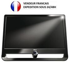 ECRAN MONITEUR PC ORDINATEUR TFT LCD 22 POUCES 16/9 AOC F22S+ ETAT NEUF