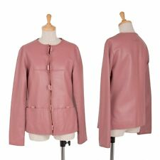 Jean-Paul GAULTIER FEMME Leather Jacket Size 40(K-38844)