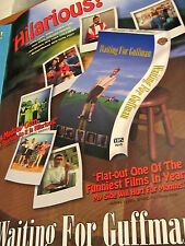 WAITING FOR GUFFMAN home video Promo Press Package CHRISTOPHER GUEST EUGENE LEVY