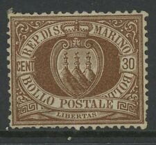 SAN MARINO, MINT, #15, NG, GREAT CENTERING