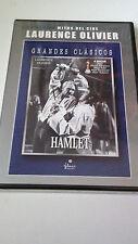 "DVD ""HAMLET"" PRECINTADA LAURENCE OLIVIER EILEEN HERLIE BASIL SIDNEY"