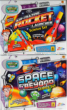 Set Of 2 Science Kits - Rocket Launcher / Space And Beyond Older Boys Girls Gift