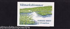 Sweden - 1998 Wetland Flowers Booklet - U/M - SG SB517