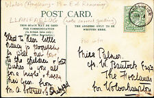 Genealogy Postcard - Family History - Palmer - Nr Wolverhampton  A9222
