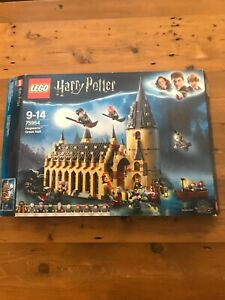 LEGO 75954 Harry Potter Hogwarts Great Hall New But Damaged Box