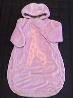 Bon Bebe Baby Girl Velour Snowsuit 0-9m