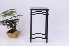 bonsai base black hard wood China Purple sandalwood carved square stand display