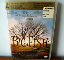 Big Fish Dvd New Sealed Sony Columbia Picture Tim Burton