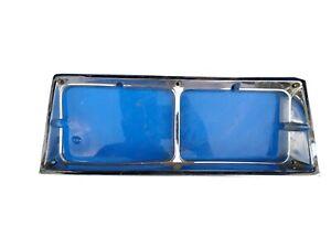 Passenger R Headlight Door Bezel Trim 2 Door Chrome Fits 1981-1986 Cutlass FC-1
