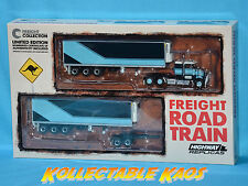 1:64 Highway Replicas - Freight Road Train - Two Tone Blue