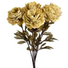 Green Peony Garden Rose - Decorative Artificial Flower for The Home
