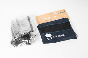 Croozer Rain Cover Kid Plus For 2 Bike Accessories 2014 & After Compatible NEW