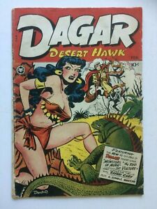 Dagar Desert Hawk #14, UNRESTORED, bondage, still nice