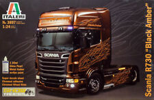 Italeri Scania R730 / R 730 Black Amber LKW Truck 1:24 Bausatz Model Kit 3897