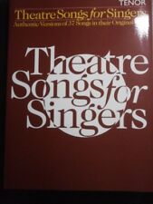 Theatre Songs for Singers: Tenor by Music Sales Ltd - Sheet Music & Words