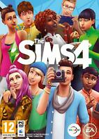 New The Sims 4 - Standard Edition (PC DVD) EA UK Official Sealed Game Disc