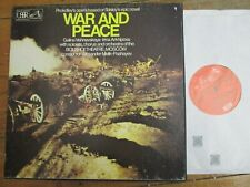 SLS837 Prokofiev War & Peace / Vishnevskaya / Melik-Pashayev etc 4 LP box set