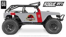 Axial G6 Wrangler Jeep Body Graphic Wrap Skin- Jurassic