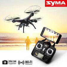 Syma X5SW Wifi FPV 2.4Ghz 4CH RC Quadcopter Drone with 2MP HD Camera RTF Black