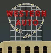 Miller's Western Auto Animated Neon Sign # 2481