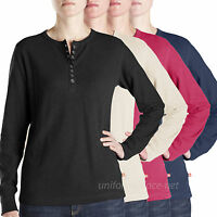 Dickies Thermal Shirt Womens Slub Thermal Hanley Long Sleeve shirts FL037 Top