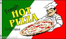 Pizza Sold Here Italy Italian Shop Sign Advertising POS 5'x3' Flag